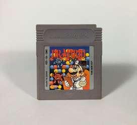 Juego cartucho Dr Mario Game boy Nintendo