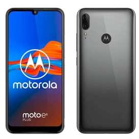 Motorola e6 plus color negro 64gb completamente nuevo