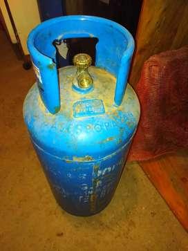 Pipa de gas vacía