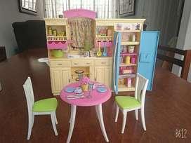 Cocina de Barbie original