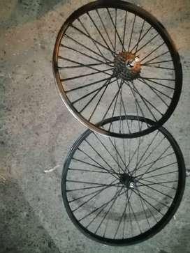 Partes de bicicleta todo el conjunto a 45