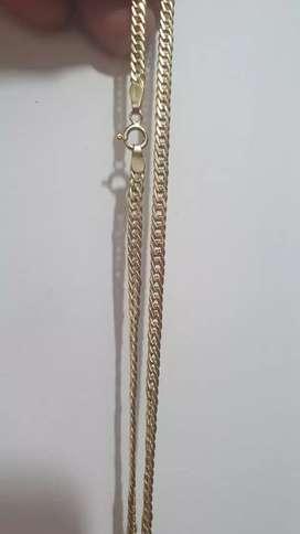 Vendo cadena de oro italiano de 18k 58cms 7.5 gramos perfecta
