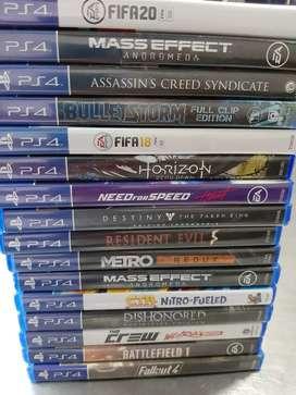 Se vendes juegos de ps4 precios diferentes