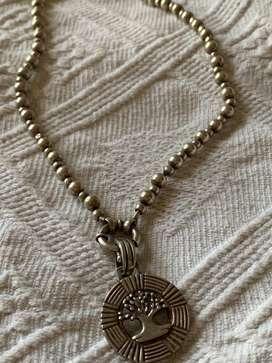 Collar c/ medalla arbol de la vida