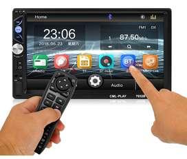 """¡Promo! Radio Para Carro y Cámara de Reversa, Pantalla 7"""" Bluetooth Mirror Link MP5"""