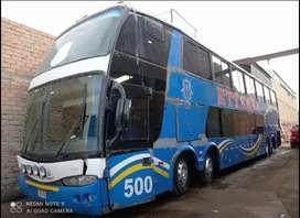 Bus Scania k410 2012 de 2 pisos dos 79 asientos NO ES K124 Mercedes Benz o400 o500 bus interprovincial buses