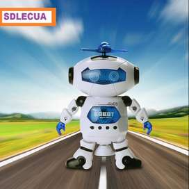 Juguete Niños Robot Bailarin Con Luz Y Musica