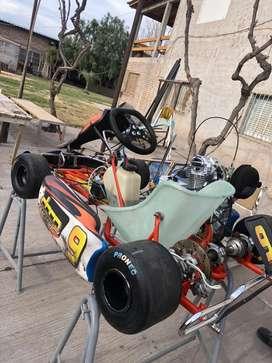 Karting ternengo 2013 con motor kayak 150cc nuevo