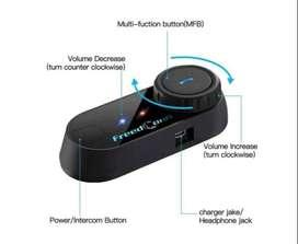 Intercomunicador Para Moto DOBLE (t-com Sc-bluetooth 4.1-pantalla)