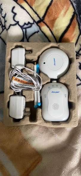 Vendo audio monitor de bebe