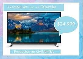 "TV LED 40"" - UHD- 4K - TOSHIBA"