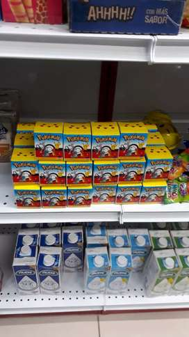 Pokemon cajas sorpresa