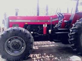 massey ferguson 297 con turbo 6 cilindros 4x4 doble tracccion