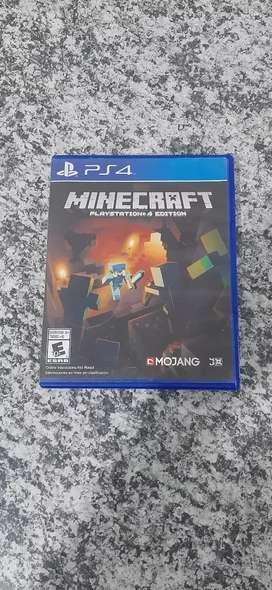 Minecraft ps4 fisico usado