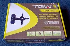 Soporte para Tv y monitor TGV. 14 a 24 pulgadas