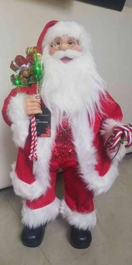 Papá Noel con música y movimiento