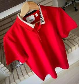 Camisetas polo masculinas burberry en algodon envio gratis