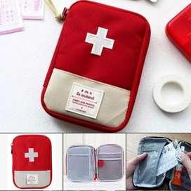Mini Paquete de Kit de primeros auxilios de supervivencia de emergencia bolsa de viaje de deportes médicos
