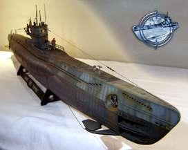 Submarino Alemán WWII_Escala 1/72_ Espectacular Replica Tipo Museo