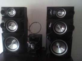 Equipo De Música Samsung Giga Sound Blast 19800 Wats