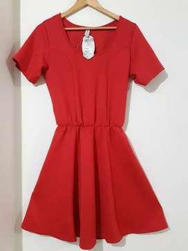 Vestido Rojo Talla XL Grande/Plus/Curvy