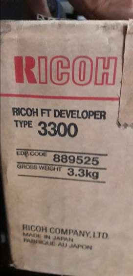 Revelador RICOH TYPE 3300, TENGO 29.8 KILOS