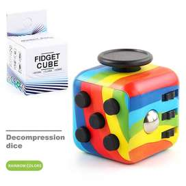 Fidget Cube entretenimiento cubo Antiestrés