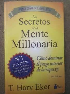 Los secretos de una mente millonaria -usado -SIRIO