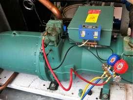Servicio profesional para chiller s cuartos fríos Aires Acondicionado secadores aire refrigeradores neveras