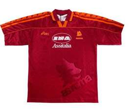 Camiseta Retro AS Roma 1995