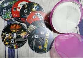 Venta 7 Juegos Originales para Playstation 3