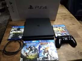 Vendo ps4 slime o cambio por pc gamer