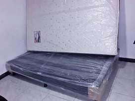 colchón con base cama