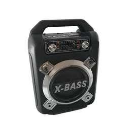 Cabina de sonido parlante portátil Bluetooth con AM FM
