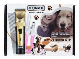 Cortadora De Pelo Para Mascotas Recargable Sonar