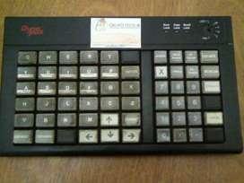 Para mini-super/mercado: Teclado Programable 60 teclas.