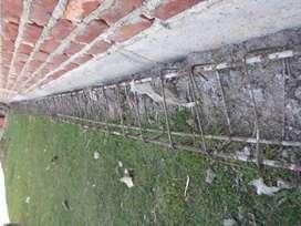vendo viga vinculacion hierro nervado acindar de 12 metros largo y 23x13 c/hierro del 12 y estribos del 6