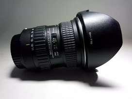 Lente gran angular tokina 11-16 mm f2,8 montura Canon
