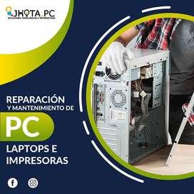 Servicio Técnico de Computadoras Reparación y Mantenimiento en Oxapampa