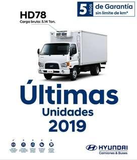 Remate Camion Hyundai 2019