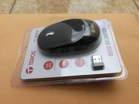Mouse inalámbrico con bateria recargable