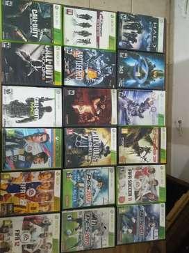 Vendo x-box 360+ 46 juegos+ Kinect!!