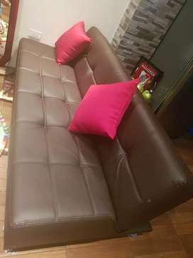 Vendo sofa cama de dos plazas