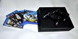 oferta PlayStation 4 + 2 controles + 4 películas