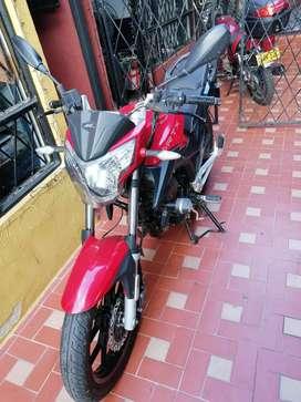 Se vende porque ya no uso la motocicleta debido al cambio de trabajo