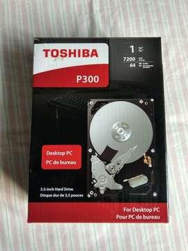 Disco Duro Interno Toshiba P300 Hdwd110xzsta 1tb Plata