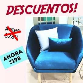 SOFAS Y MUEBLES EN DESCUENTO!!