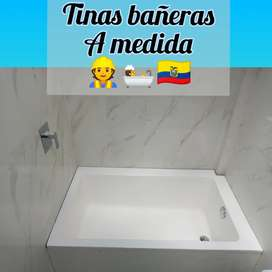 Tinas bañeras a medida