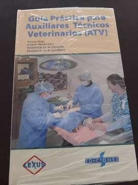 Libro Guía Para Aux Veterinarios Nuevo
