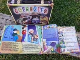"""Libros """"COFRECITO""""  Y """"SERES SINIESTROS"""" (puzzle) Para Niños!"""